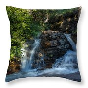 Baring Falls Throw Pillow