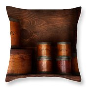 Barista - Coffee - Coffee And Spice Throw Pillow