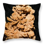 Barite Throw Pillow by Millard H. Sharp