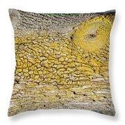 Bark Art Throw Pillow
