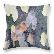 Bark Beauty Throw Pillow