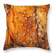 Bark With No Bite Throw Pillow
