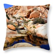 Barker Dam Big Horn Dam By Diana Sainz Throw Pillow