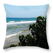 Barkers West Throw Pillow