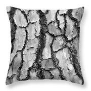 Barking Up The Wrong Tree Throw Pillow