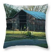 Barn 1 - Featured In Old Building And Ruins Group Throw Pillow