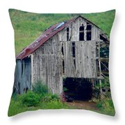 Barn 1 Throw Pillow