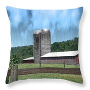 Barn 28 - Featured In Old Buildings And Ruins Group Throw Pillow