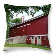 Barn At Greene Valley Throw Pillow
