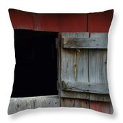 Barn Hatch Throw Pillow