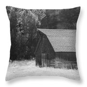 Barn Out West Throw Pillow