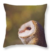 Barn Owl Photo Millie Throw Pillow