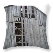 Barn Side Throw Pillow