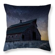 Barn V Throw Pillow