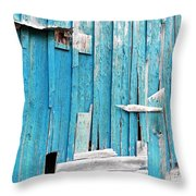 Barn Wall Throw Pillow