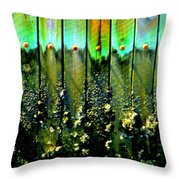 Barnacled Beauty 2 Throw Pillow