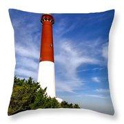 Barnaget Lighthouse Throw Pillow