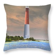 Barnegat Abstract Throw Pillow