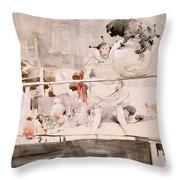 Barnet Fair Throw Pillow