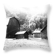 Barns   7d07740 Throw Pillow