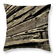 Barnwood Throw Pillow