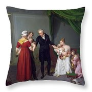 Baron Jean Louis Alibert Throw Pillow