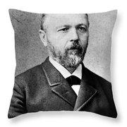 Baron Krafft-ebing Throw Pillow
