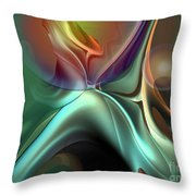 Baroque Music Reminiscence Throw Pillow