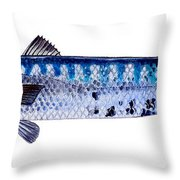 Barracuda Throw Pillow