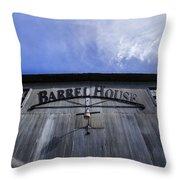 Barrel House One Throw Pillow
