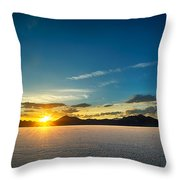 Barren Valley Throw Pillow