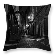 Bars In The Alley Throw Pillow