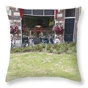 Bartok Park In The Center Of Arnhem Throw Pillow