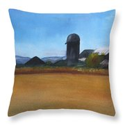 Barton Farm Throw Pillow