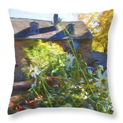 Bartram Floral Throw Pillow