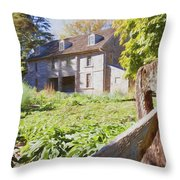 Bartrams Fence Throw Pillow