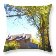 Bartram's Wooded Throw Pillow