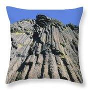 M-a5607-basalt Columns On Pilot Rock Throw Pillow