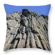 M-a5607-basalt Columns On Pilot Rock Throw Pillow
