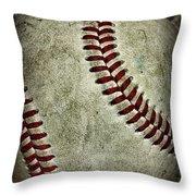 Baseball - A Retired Ball Throw Pillow