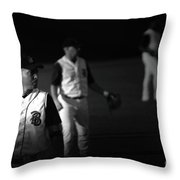 Baseball Days Throw Pillow
