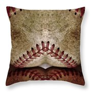 Baseball Eros Throw Pillow