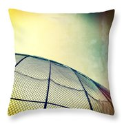 Baseball Field 8 Throw Pillow