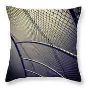 Baseball Field 9 Throw Pillow