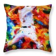 Baseball  I Throw Pillow by Lourry Legarde