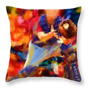 Baseball II Throw Pillow