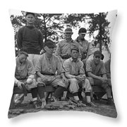 Baseball Team, 1938 Throw Pillow