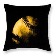 Baseball The American Pastime Throw Pillow