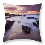 Basham Twilight Throw Pillow
