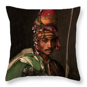 Bashi-bazouk Throw Pillow